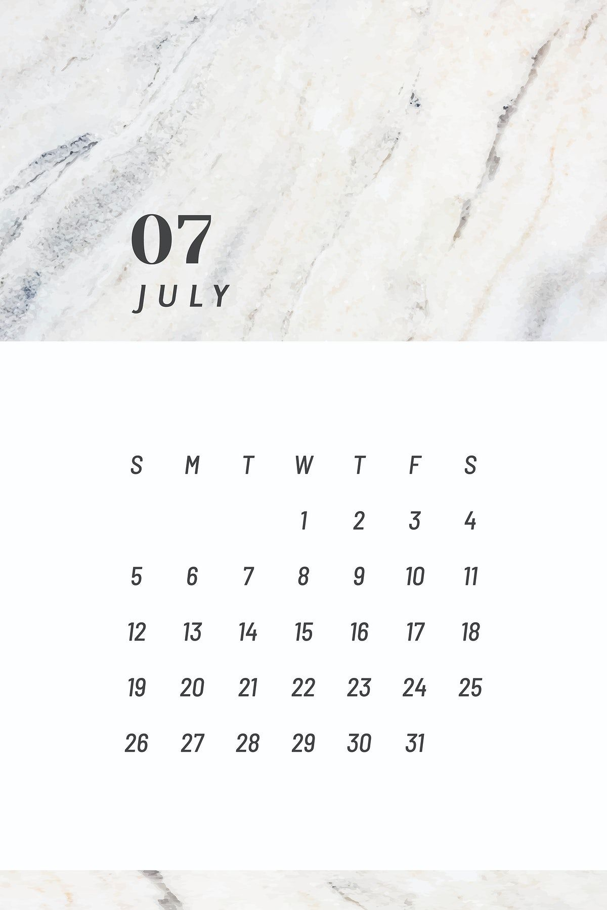 Download premium vector of Black and white July calendar 2020 vector by Nunny about calendar july calendar, calendar 2020, 07, 2020, and agenda 1232427