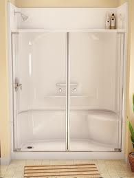Fiberglass Shower Stall With Images Fiberglass Shower Enclosures