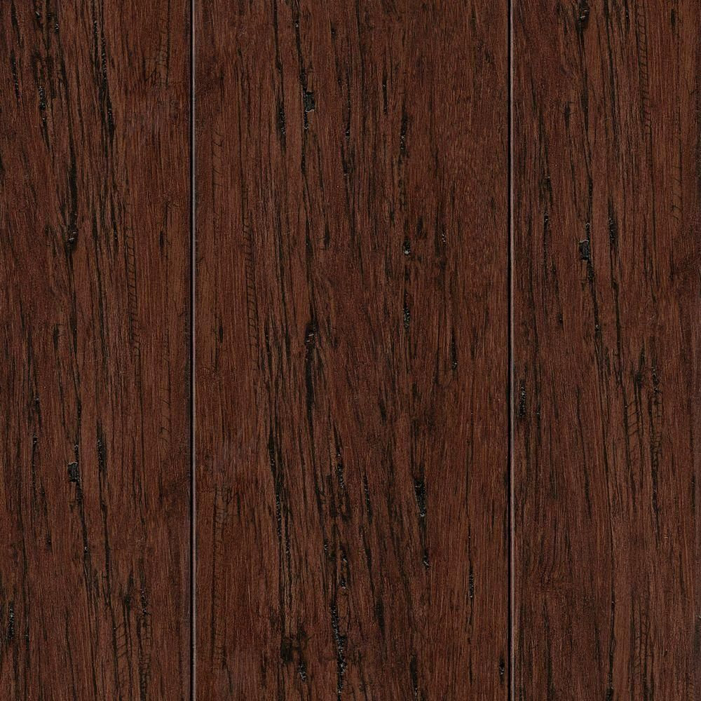 Home Legend Hand Scraped Strand Woven Autumn 3 8 In Thick X 2 3 8 In Wide X 36 In Length Solid Bamboo Flooring 28 5 Sq Ft Case Hl273s Flooring Engineered Bamboo Flooring Birch Floors