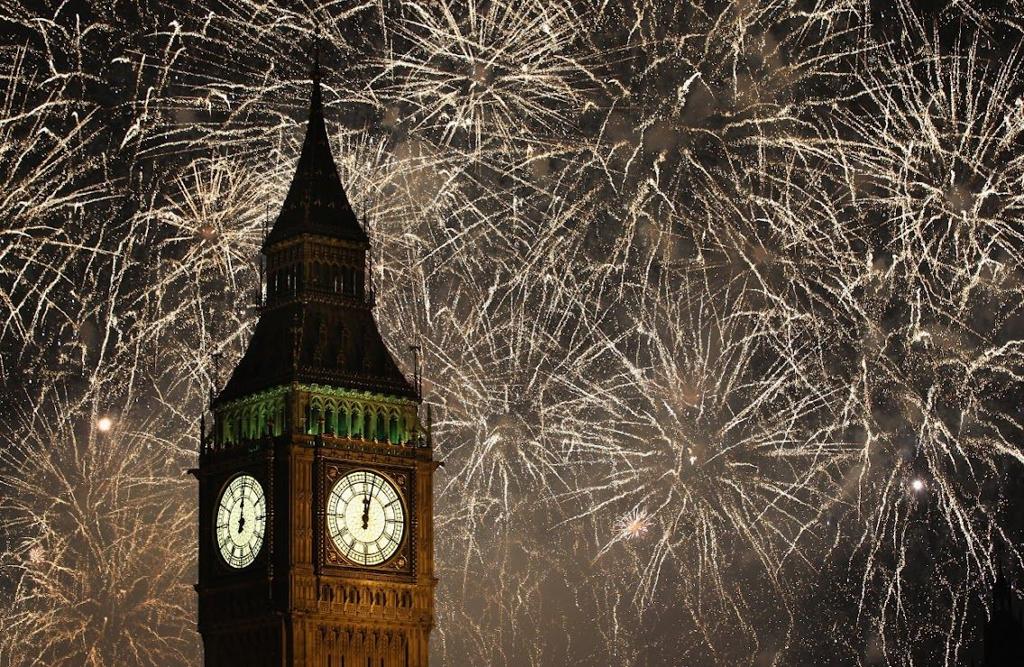 new years pictures new years eve fireworks big ben. Black Bedroom Furniture Sets. Home Design Ideas