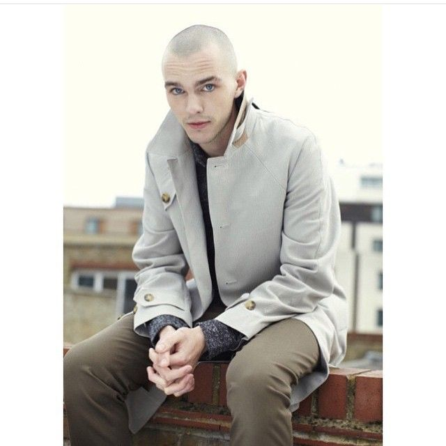 He's Mr. Baldie in this picture. -Emmy💕 #nicholashoult # ...