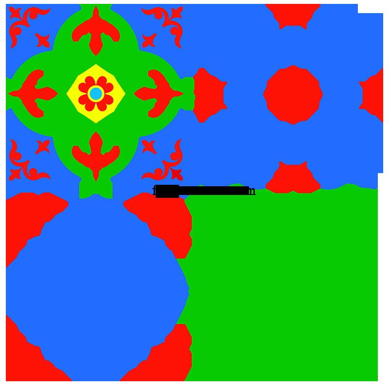 Decorative Square Ornament Tile Art Vector Patterns Freepatternsarea Tile Art Vector Pattern Pattern