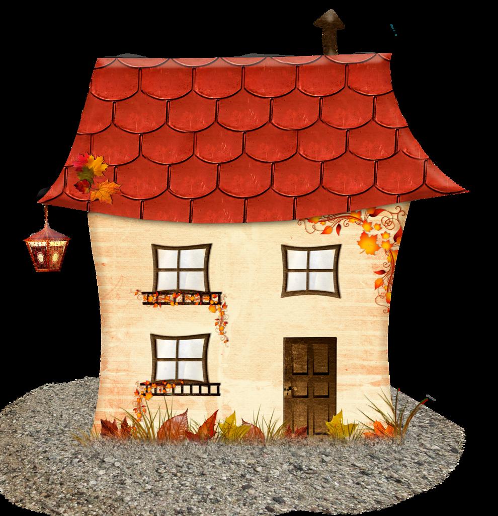 Картинка домика для фона