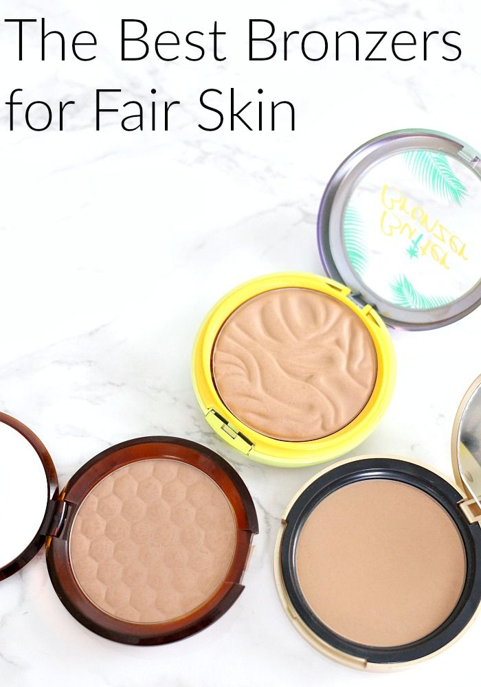 The Best Bronzers For Fair Skin Everyday Starlet