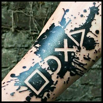 Gaming tattoo Before you