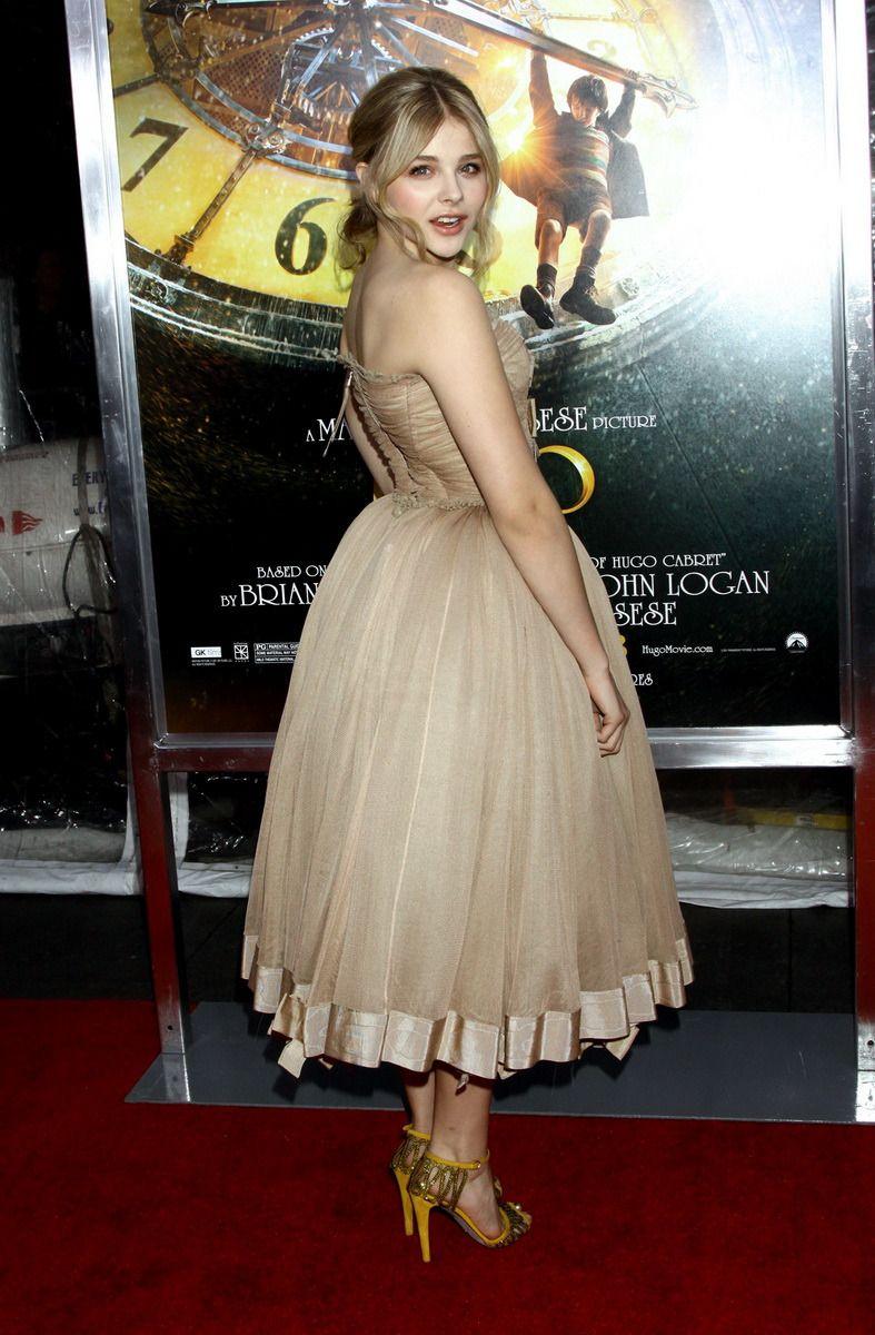 Chloe Moretz A La Premiere Modiale D Hugo Cabret A New York