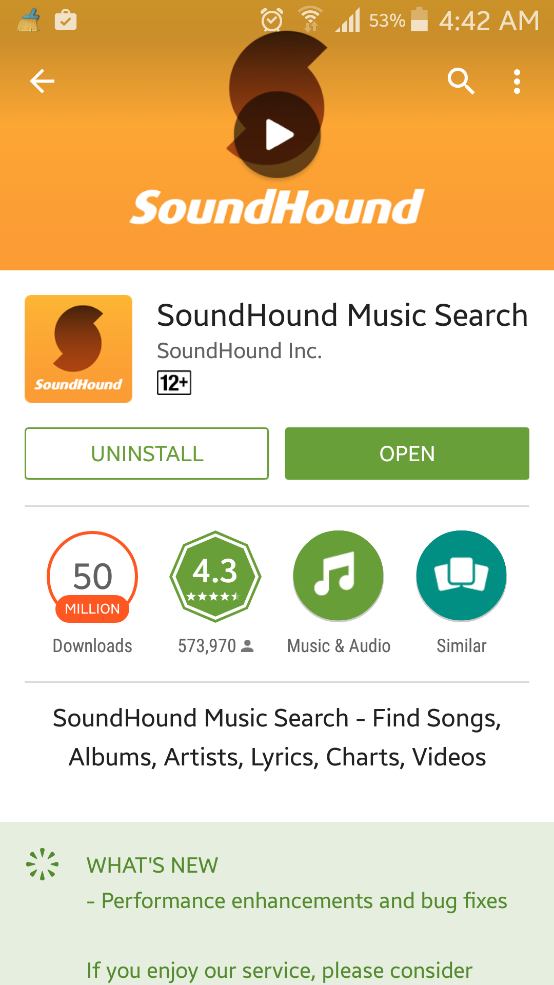 How to recognize music using an Android smartphone Music