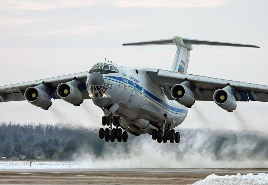 """IL-76MD"" by Sergey Chaikovskiy, via 500px."
