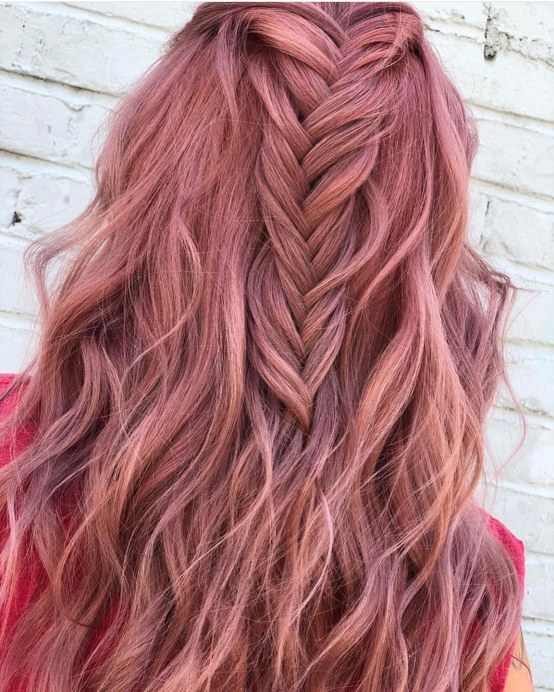 Pulp Riot Hair Color On Instagram Rose Gold Toner