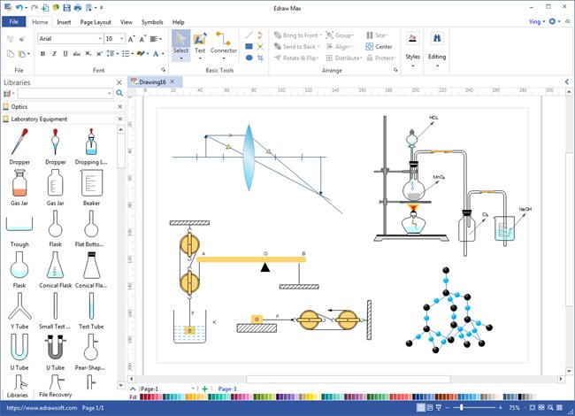 Science Diagram Maker