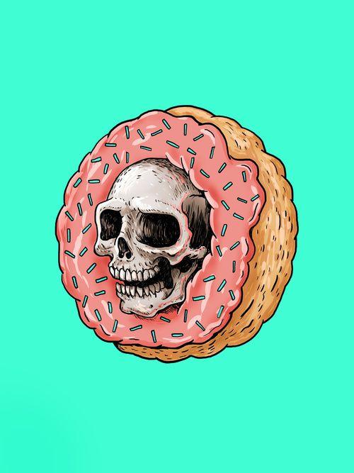Skull Donut (For Sale)