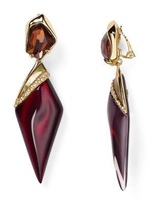 Alexis Bittar Lucite Clip-On Earrings | Bloomingdale's ...