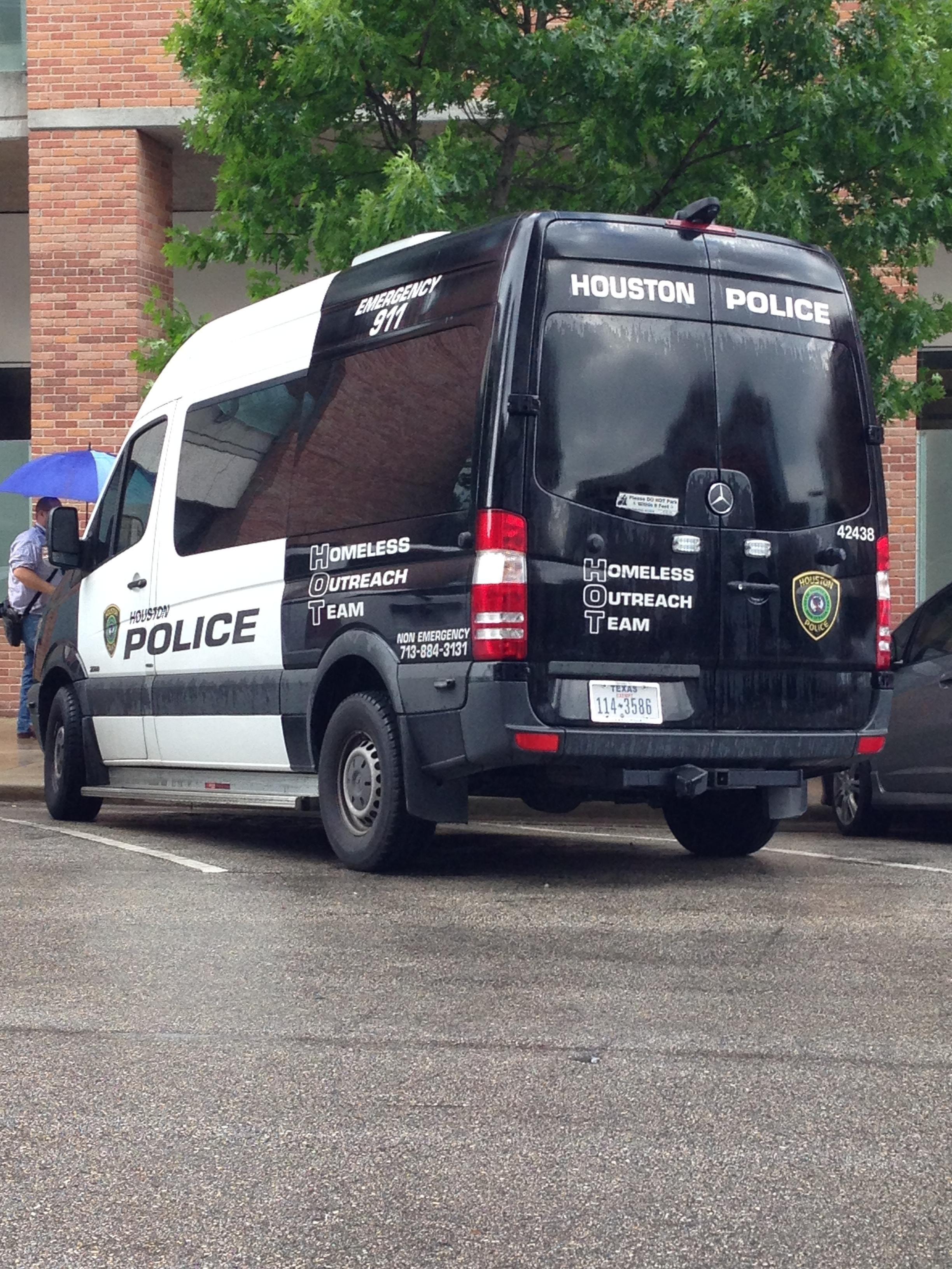 Houston Police Dept Homeless Outreach Team Mercedes Benz Sprinter Houston Police Old Police Cars Police