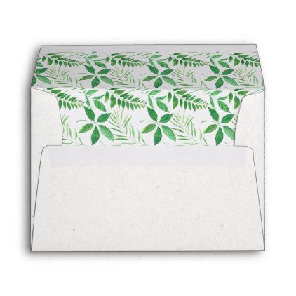 Unique Oh Baby Tropical Baby Shower Pre-Addressed Envelope | Zazzle.com #tropicalpattern