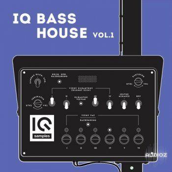 IQ Samples IQ Bass House Vol 1 WAV Ableton Massive SERUM and Zebra