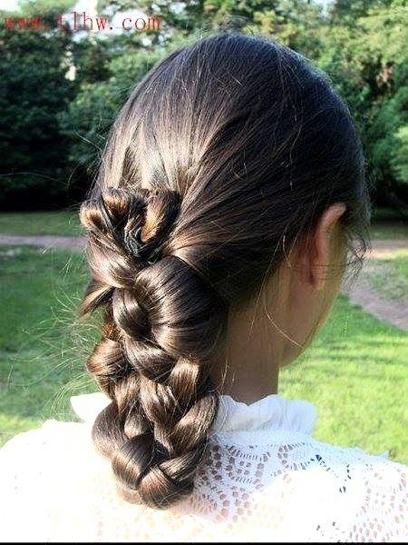 Folded Braid For Oily Thin Hair Hair Styles Cool Hairstyles Hairstyles For Thin Hair