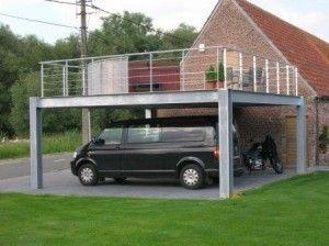 carport terras garage plans garage ideas rooftop outdoor gardens outdoor spaces