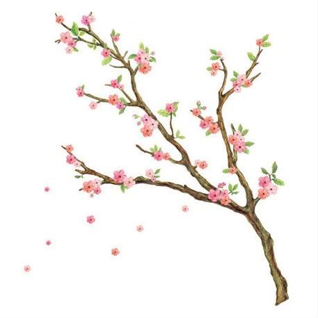 Cherry blossom wall mural wholesale cherry blossom for Cherry blossom mural on walls