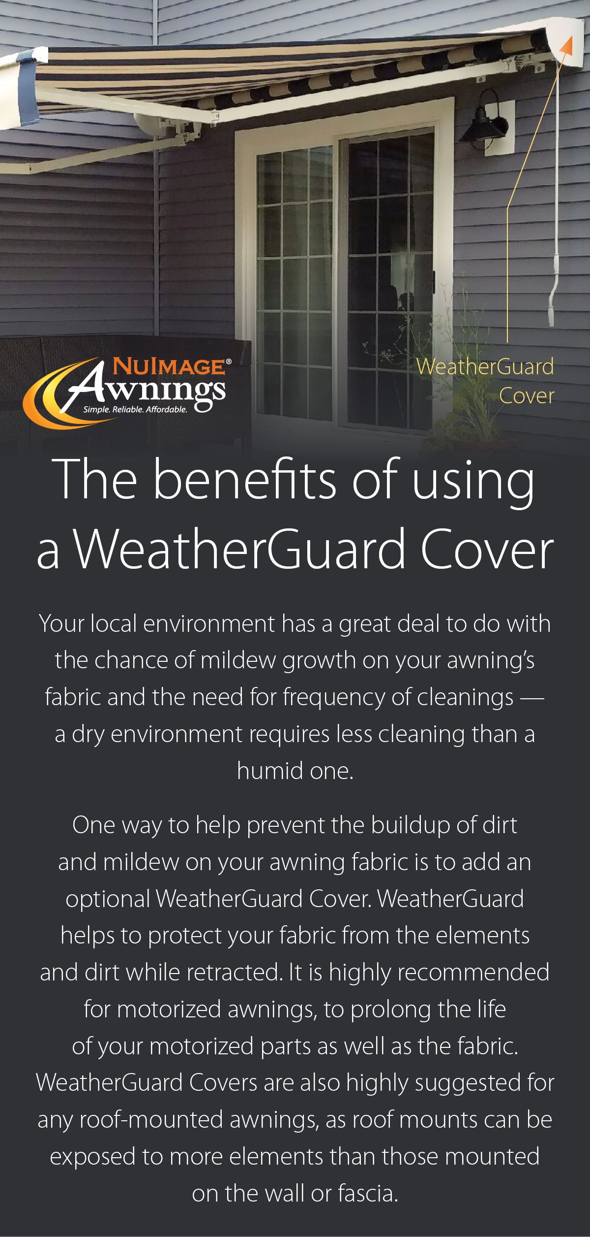 When Customizing Your Nushade Retractable Awning Consider A