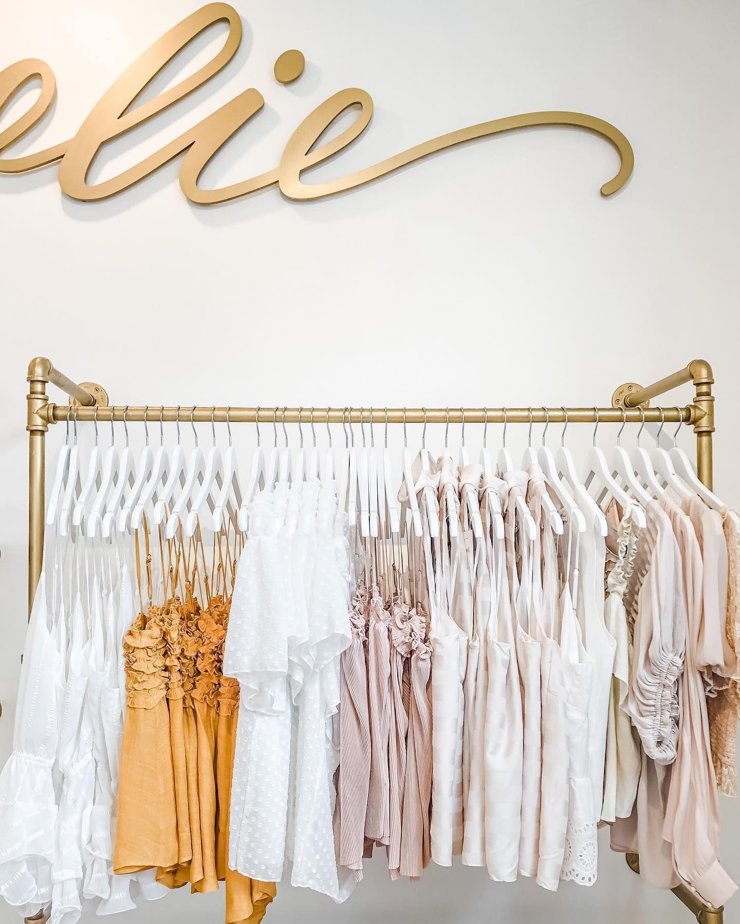 Fall fashion neutral palette   Clothing boutique ideas, Store design  boutique, Tailoring shop
