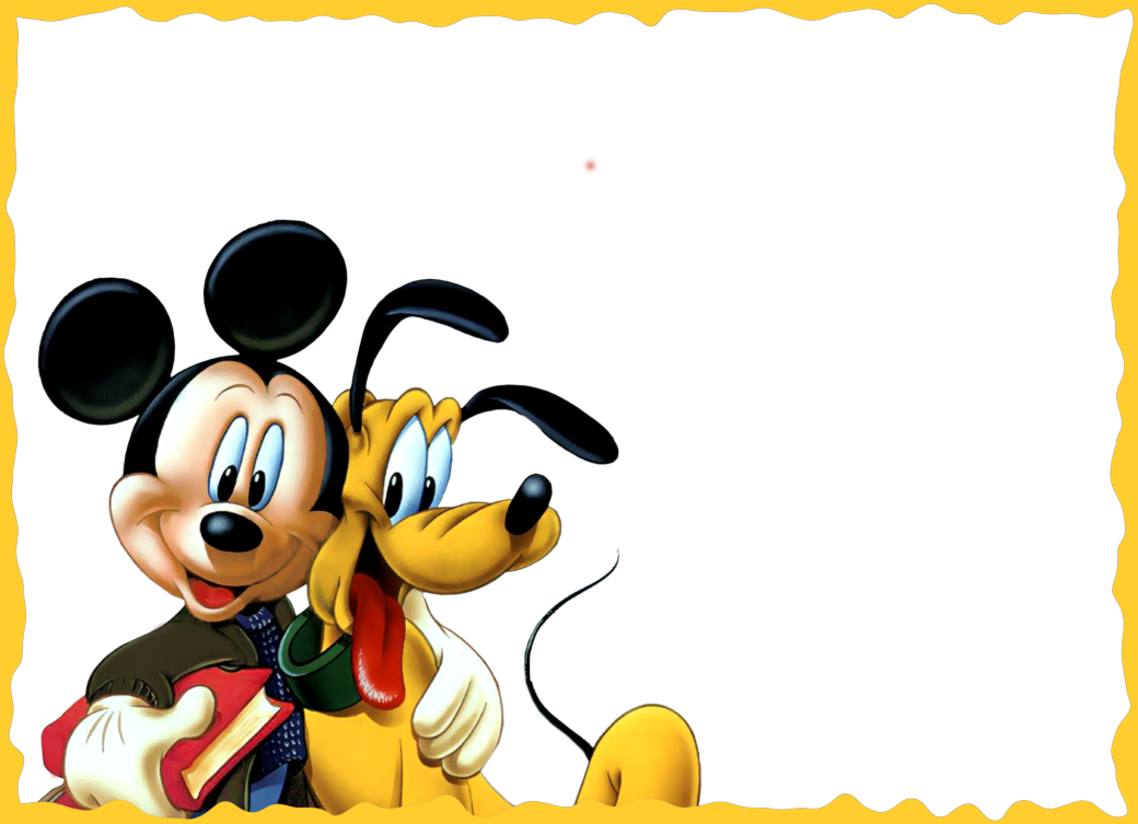 Mickey And Pluto Kids Png Photo Frame Imagenes De Marcos Marcos