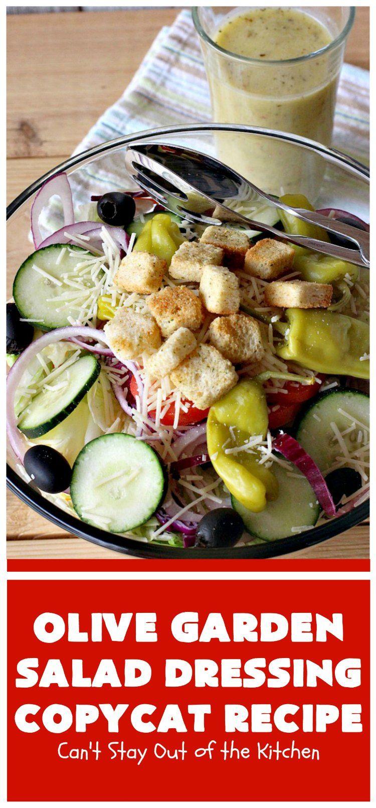 Olive Garden Salad Copycat Recipe in 2020 Best
