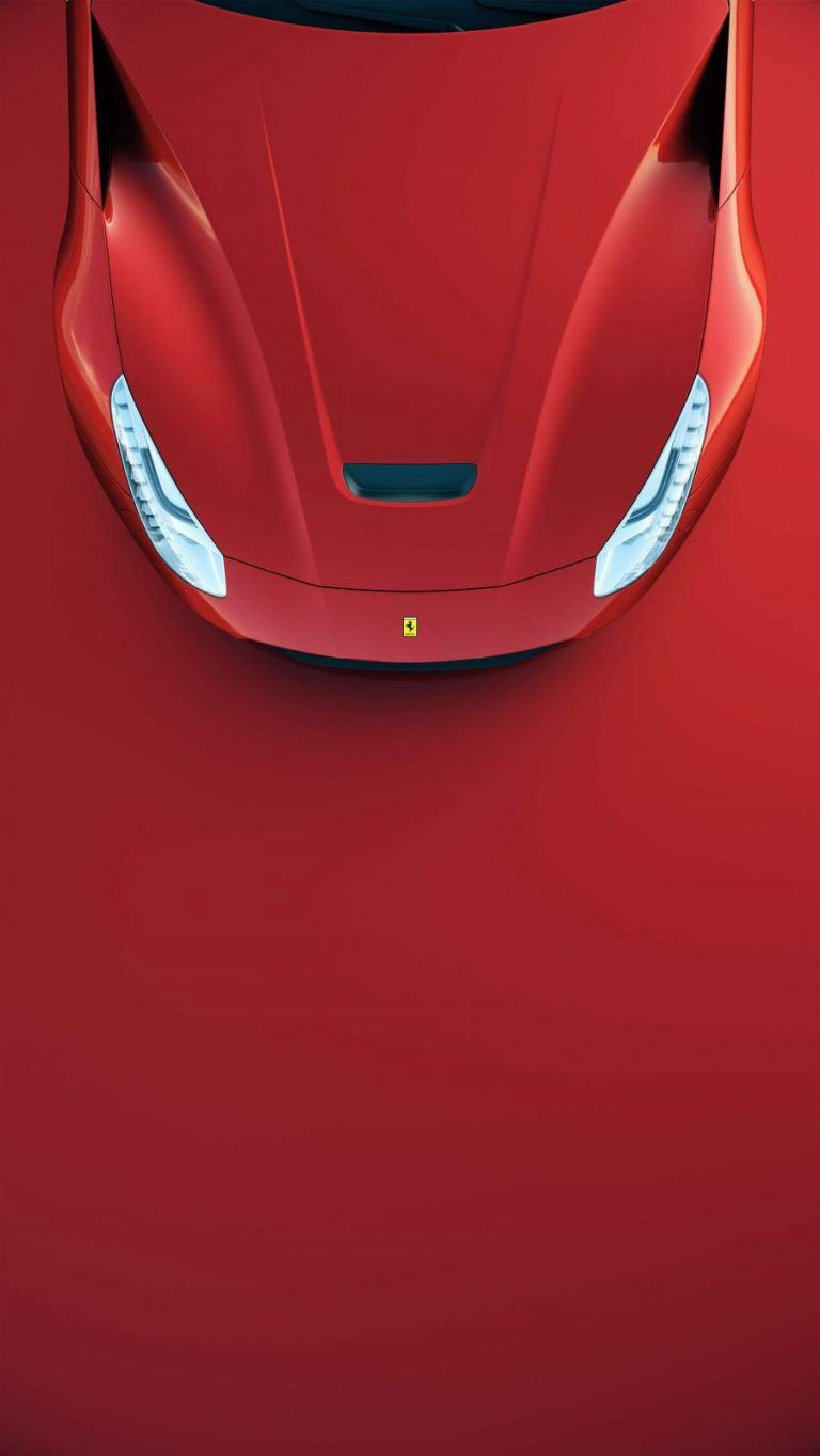 Red Ferrari Iphone Wallpaper Car Iphone Wallpaper Iphone