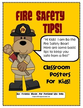Pick A Penguin Word Wall Abc Order Fire Safety Poster
