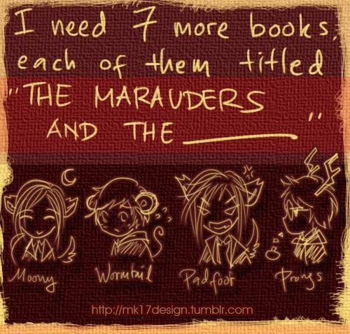 The Marauders Book Jk Rowling