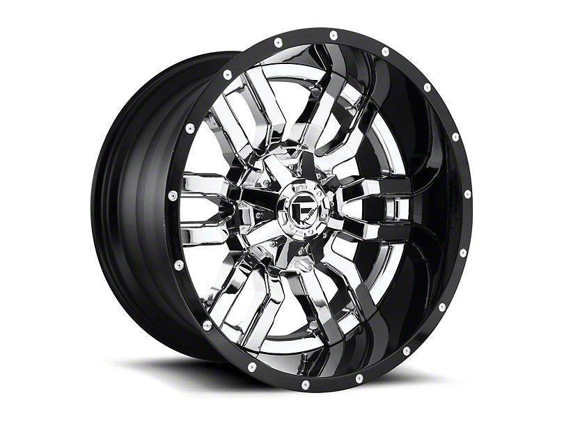 Fuel Wheels Sledge Chrome 6 Lug Wheel