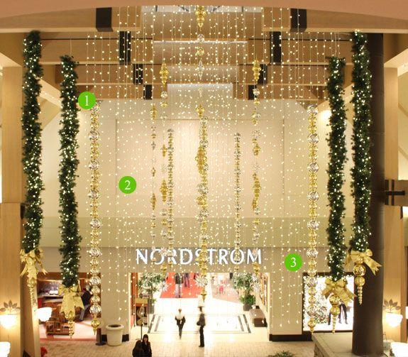 Christmas Decorations In Shopping Malls: ... Malls Portfolio - Mall
