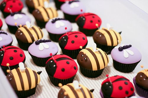 Bug cupcakes#Repin By:Pinterest++ for iPad#