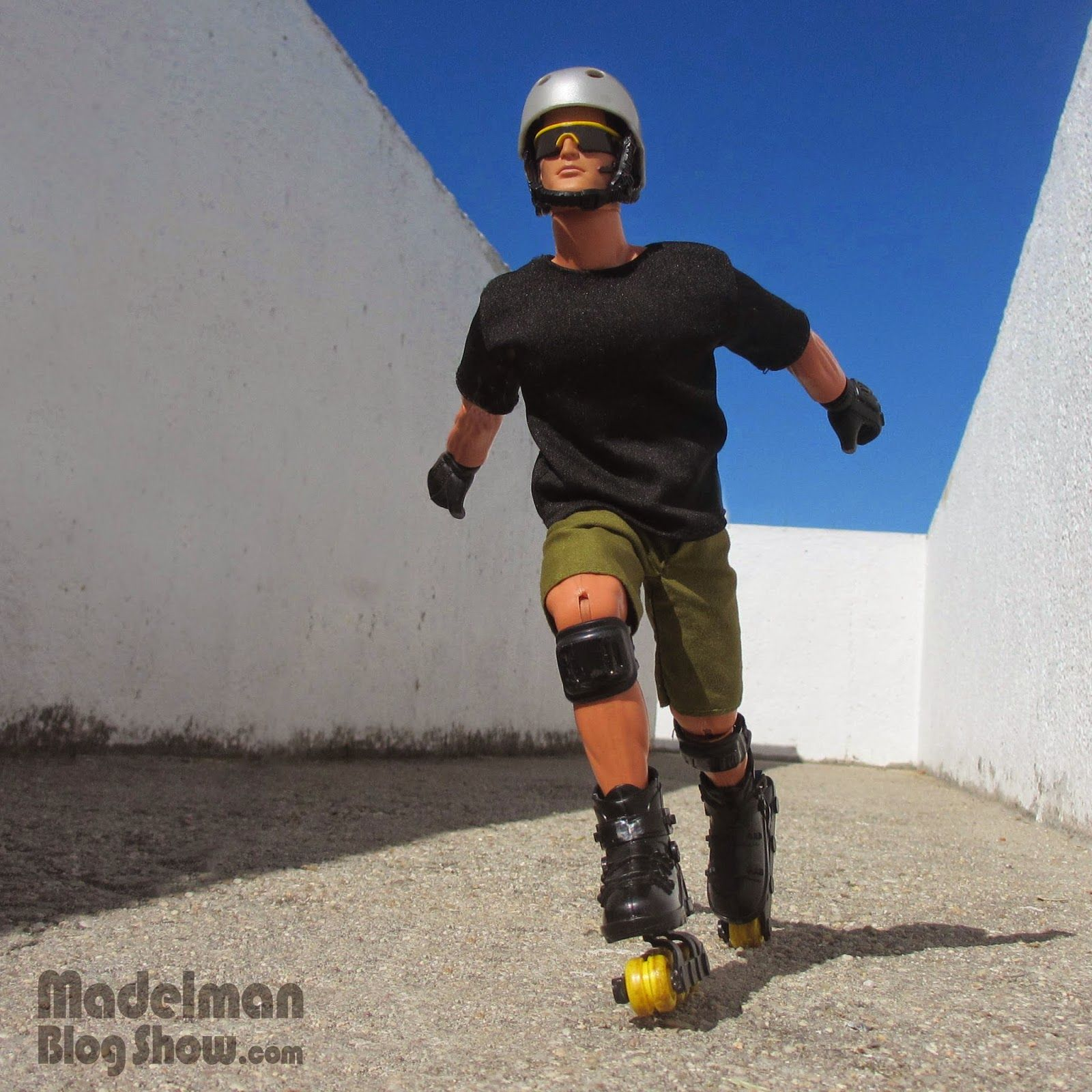 Roller skate xtreme - Madelman Blog Show Action Man Roller Extreme Hasbro