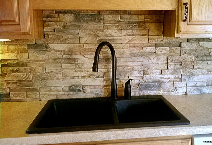 You Can Make A Stunning Kitchen Or Bathroom Backsplash With Faux Panels But How Do Keep Them Clean Most People Are Pretty Pedestrian When It Comes Ot