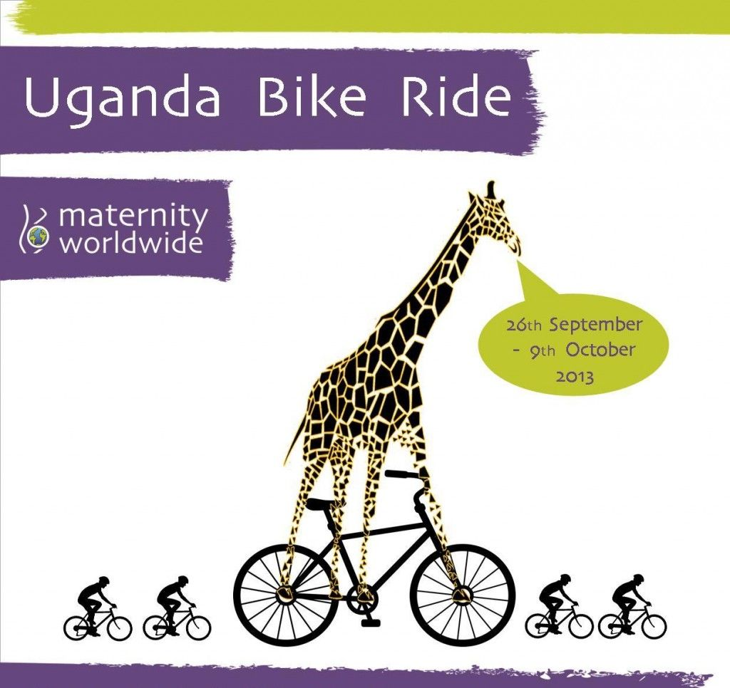 Join us for our Uganda Bike Ride September 2013! Includes a 3 day safari in a national park!