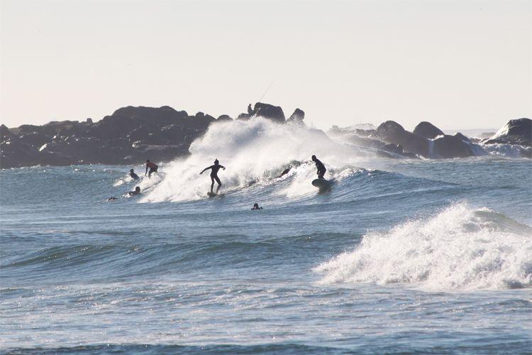 Surfer à porto