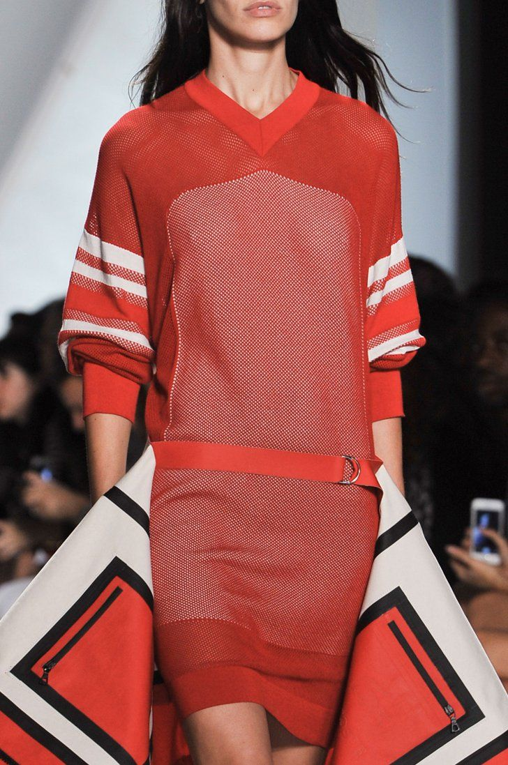 Pin for Later: Trust Us: You've Never Gotten This Close to the Clothes at Fashion Week Lacoste Spring 2015