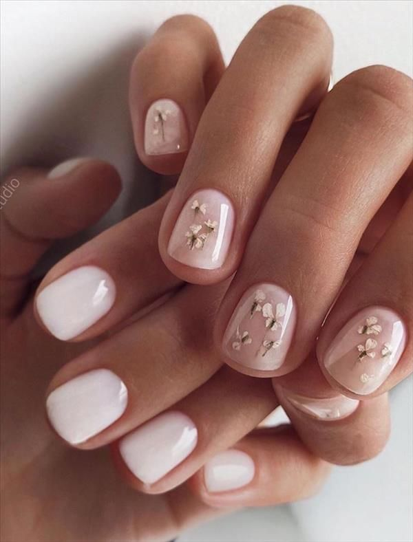 30 Trendy Summer short square nails design ideas that brings good luck – Cozy living to a beautiful lifestyle