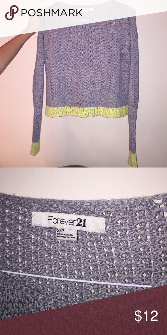 Cute knitted sweater Knit sweater stretchy Forever 21 Sweaters