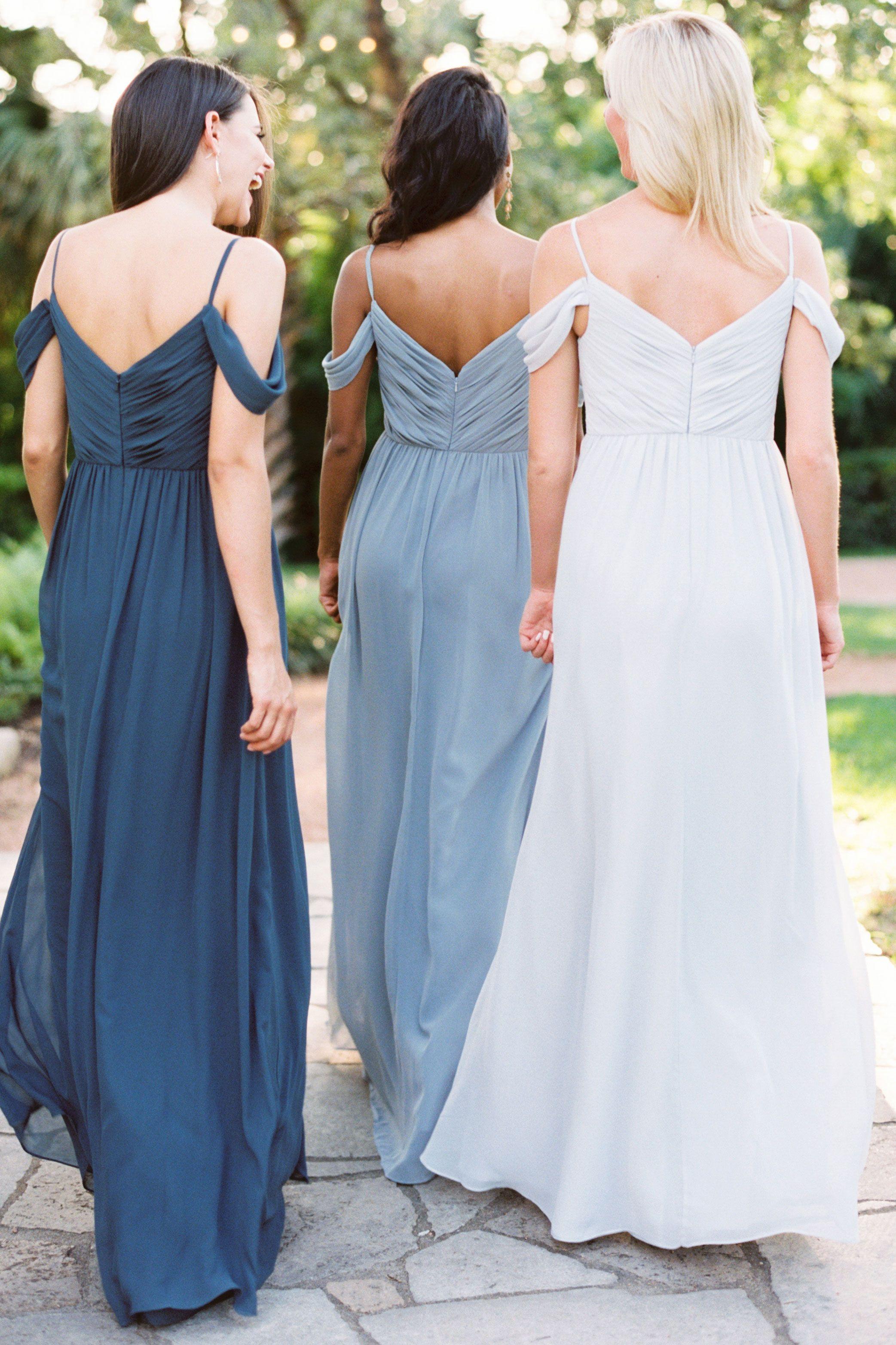 Lily Chiffon Dress Backless Bridesmaid Dress Long Bridesmaid Gowns Bridesmaid Gown Chiffon