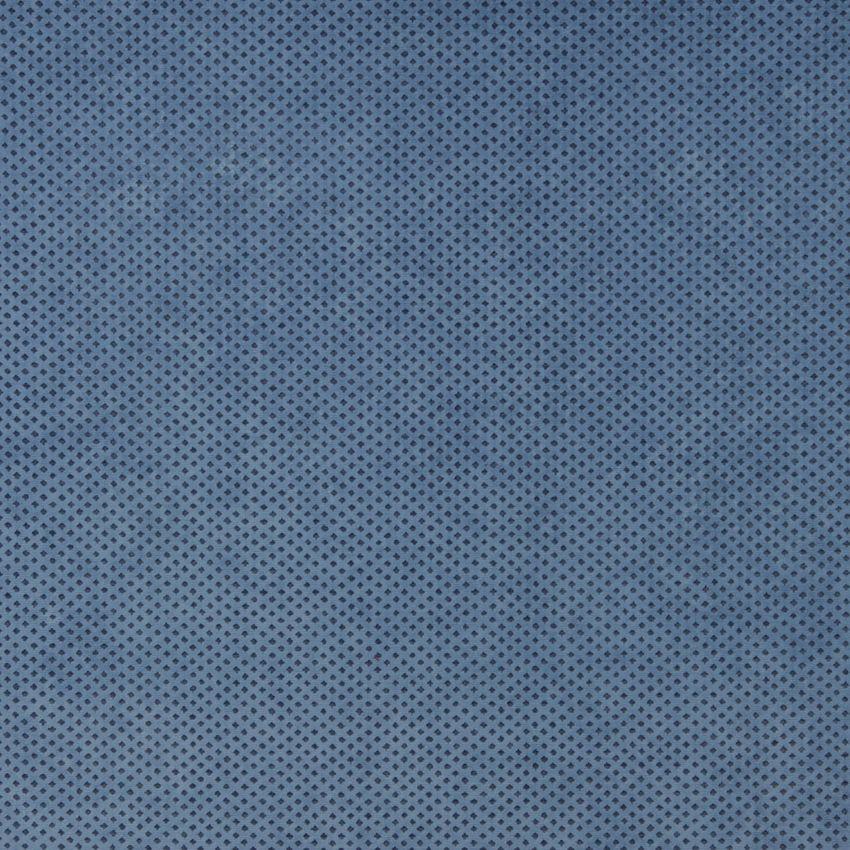 Wedgewood Blue Small Diamond Mesh Microfiber Velvet Upholstery