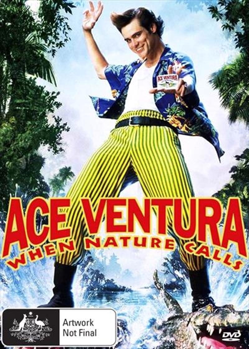 Ace Ventura When Nature Calls Ace Ventura Movie Collection Ace Ventura Pet Detective