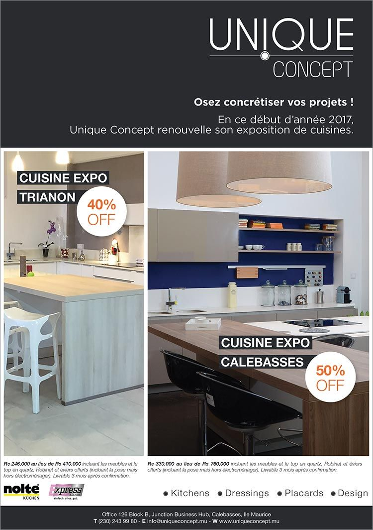 Unique Concept Cuisine Expo A Vendre Tel 243 9980 Home Accessories Home Kitchen