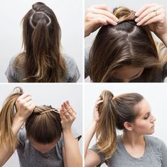 17 Hacks That'll Make Your Hair Look So Much Fuller and Thicker #fullerponytail