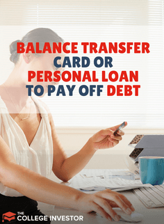 If You Re Looking To Save Money While Paying Down Debt Should You Use A 0 Balance Transfer Card Or A P Balance Transfer Balance Transfer Cards Personal Loans