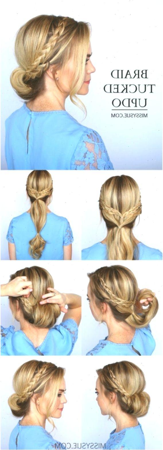 11 einfache Ball-Frisuren für mittlere bis lange Haare können Sie