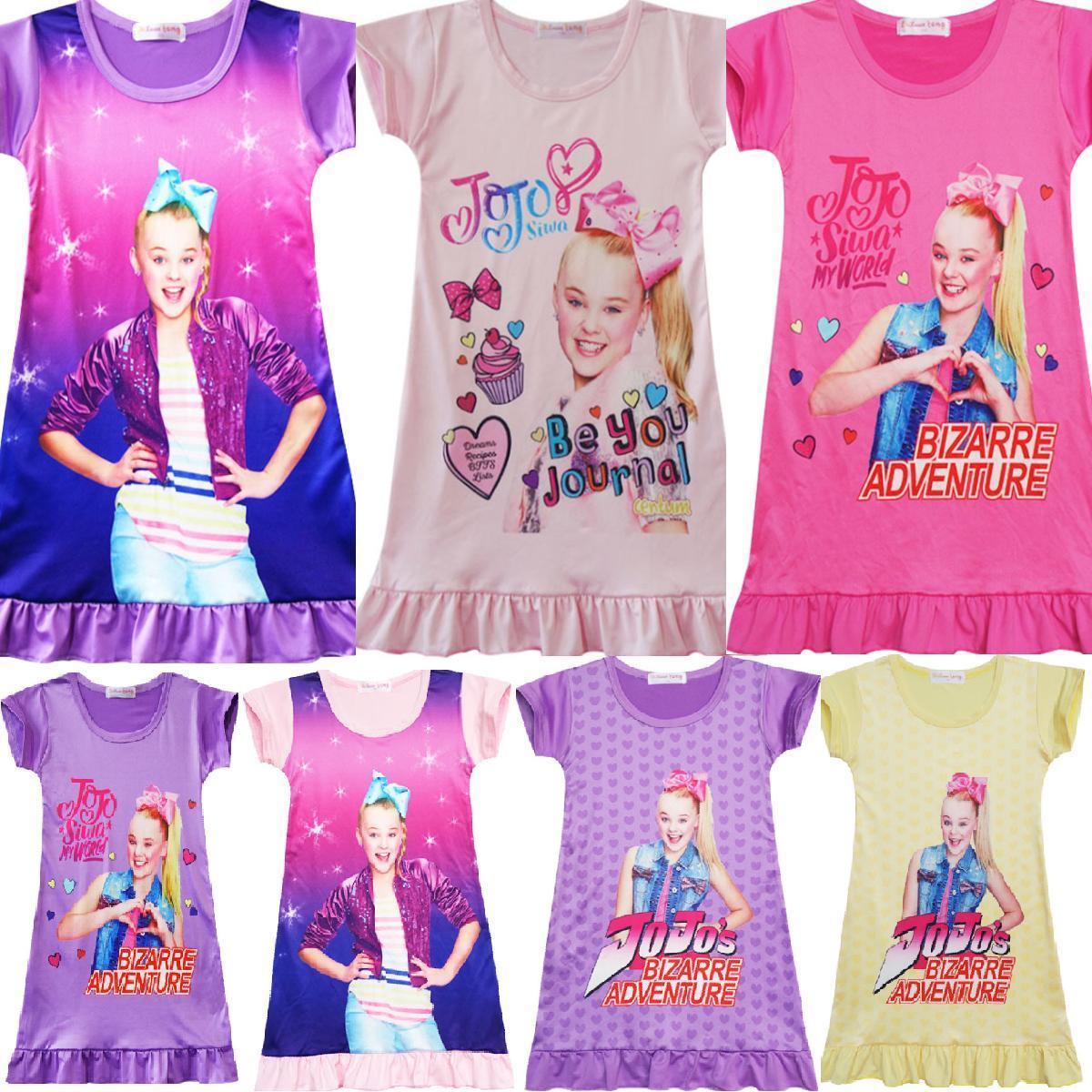 8.66 AUD - Jojo Siwa Girls Dresses Nightwear Nightdress Pyjamas Skirts Tops  Tshirts Party A  ebay  Fashion 6f7d85949147