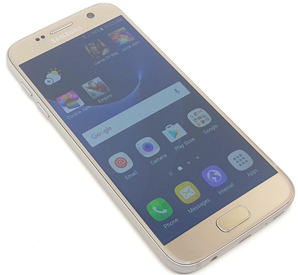 Us Cellular Samsung Galaxy S7 Gold 32gb Clean Esn Smartphone Android Phone 9000 Samsung Smartphone Samsung Galaxy S7 Samsung Galaxy S7 Gold Us Cellular