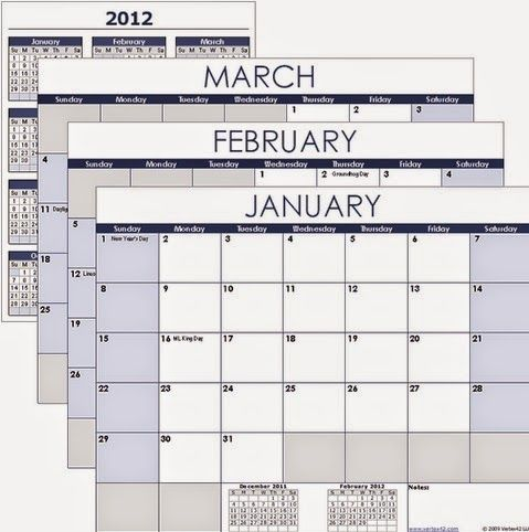 Raj Excel Excel Calendar Template Free Download  Excel Tips
