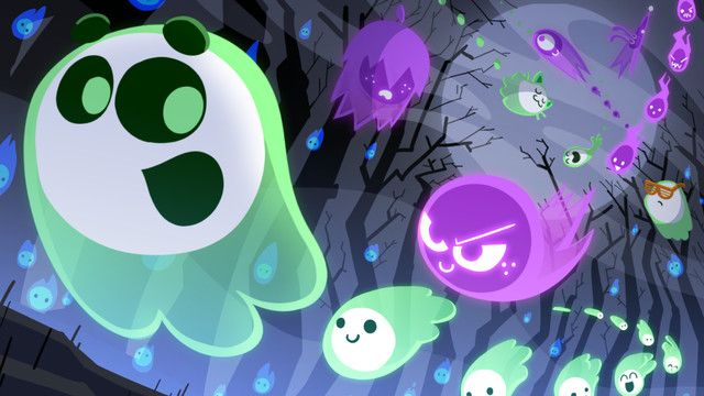 Googles Halloween Doodle Is A Competitive Multiplayer Game Gaming News Entertainment Halloween Doodle Google Doodle Halloween Google Halloween